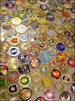 Custom Military Challenge Coins Army Challenge Coins