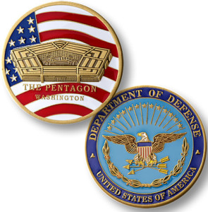 Defense Challenge Coins