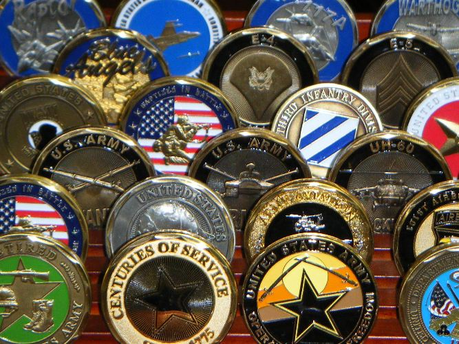 Foreign Military Coins